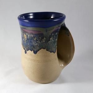 Handwarmer Mug, Right in Cobalt Canyon
